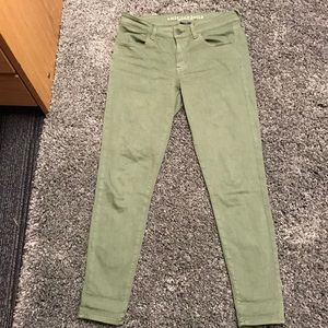 Olive Green American Eagle Jeans